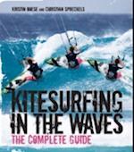 Kitesurfing in the Waves