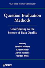 Question Evaluation Methods (Wiley Series In Survey Methodology)