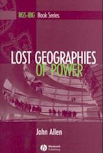 Lost Geographies of Power af John Allen