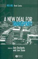 New Deal for Transport? (Rgs-Ibg Book Series)