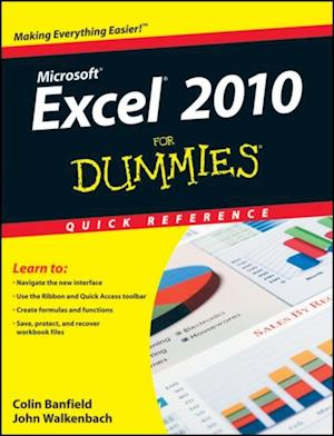 Excel 2010 For Dummies Quick Reference af John Walkenbach