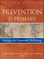 Prevention Is Primary af Vivian Chavez