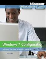 Exam 70-680 (Microsoft Official Academic Course Series)