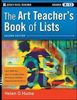 Art Teacher's Book of Lists (J-B Edbook of Lists)