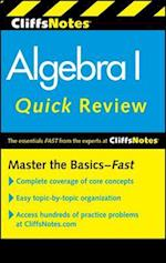 CliffsNotes Algebra I Quick Review