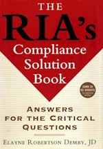 RIA's Compliance Solution Book (Bloomberg Financial)