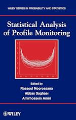 Statistical Analysis of Profile Monitoring (Wiley Series in Probability and Statistics)