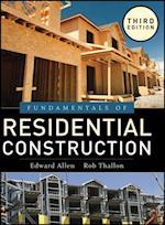 Fundamentals of Residential Construction af Edward Allen