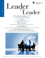 Leader to Leader (J-b Single Issue Leader to Leader)