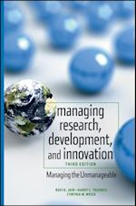 Managing Research, Development and Innovation af Ravi Jain