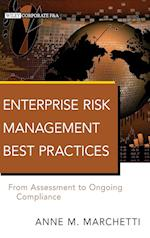 Enterprise Risk Management Best Practices (Wiley Corporate F&A)