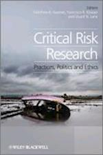 Critical Risk Research af Francisco Klauser, Stuart Lane, Matthew B Kearnes