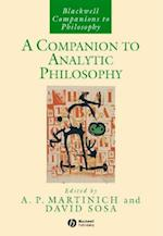 Companion to Analytic Philosophy (BLACKWELL COMPANIONS TO PHILOSOPHY)