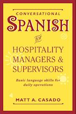 Conversational Spanish for Hospitality Managers and Supervisors