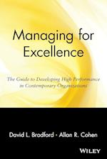 Managing for Excellence (Wiley Management Classic)