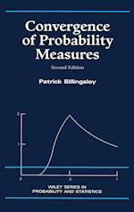 Convergence of Probability Measures, 2/Ed. (Wiley Series in Probability and Statistics, nr. 1)