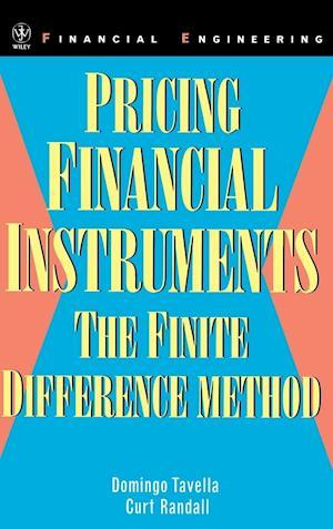 Bog, hardback Pricing Financial Instruments af Domingo Tavella, Curt Randall