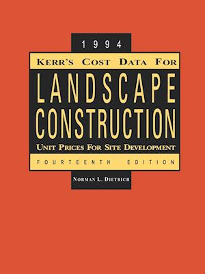 Kerr's Cost Data for Landscape Construction