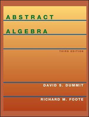 Bog, hardback Abstract Algebra af David S Dummit, Richard M Foote