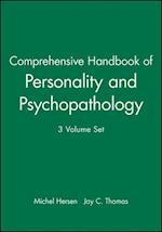 Comprehensive Handbook of Personality and Psychopathology, 3 Volume Set