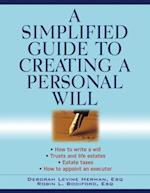 Simplified Guide to Creating a Personal Will