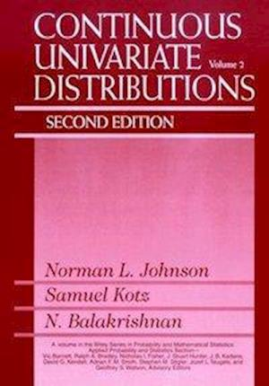 Continuous Univariate Distributions, Volume 2