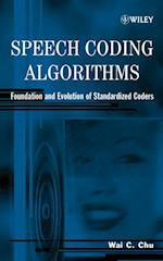 Speech Coding Algorithms