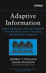 Adaptive Information (WILEY SERIES IN SYSTEMS ENGINEERING AND MANAGEMENT)