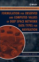 Formulation for Observed and Computed Values of Deep Space Network Data Types for Navigation (Jpl Deep-Space Communications and Navigation Series)