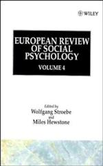 European Review of Social Psychology, Volume 4
