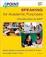 4 Point Speaking for Academic Purposes