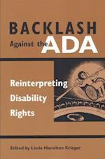 Backlash Against the ADA (Corporealities)