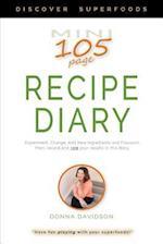 Mini Recipe Diary