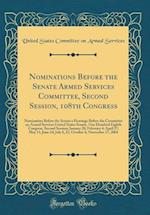 Nominations Before the Senate Armed Services Committee, Second Session, 108th Congress
