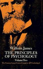 The Principles of Psychology, Vol. 2 af William James