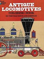 Antique Locomotives Coloring Book (Dover History Coloring Book)