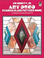 Art Deco Stained Glass Pattern Book (Dover Stained Glass Instruction)