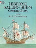 Historic Sailing Ships Coloring Book af Tre Tryckare Co, Tre Tryckare, Coloring Books