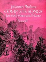 Complete Songs for Solo Voice and Piano af Johannes Brahms