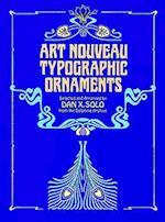 Art Nouveau Typographic Ornaments (Dover Pictorial Archives)