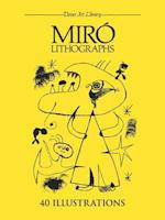 Miro Lithographs (Dover Art Library)