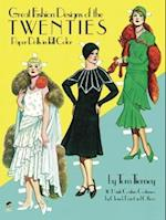 Great Fashion Designs of the Twenties Paper Dolls in Full Colour (Dover Paper Dolls)