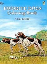 Favorite Dogs Coloring Book (Dover Nature Coloring Book)