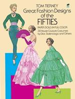 Great Fashion Designs of the Fifties Paper Dolls in Full Colour (Dover Paper Dolls)