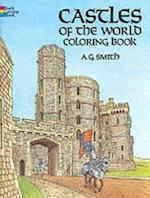 Castles of the World Coloring Book af Coloring Books, A. G. Smith