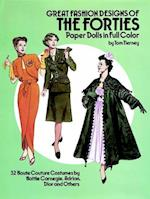 Great Fashion Designs of the Forties Paper Dolls (Dover Paper Dolls)