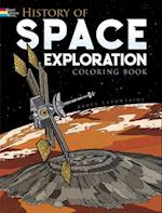 History of Space Exploration (Colouring Books)