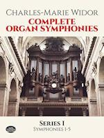 Complete Organ Symphonies, Series I af Classical Piano Sheet Music, Charles Marie Widor