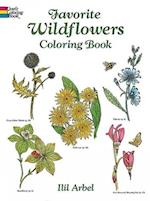 Favourite Wildflowers Colouring Book (Dover Nature Coloring Book)