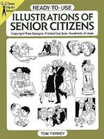 Ready-To-Use Illustrations of Senior Citizens (Dover Clip Art Ready to Use)
